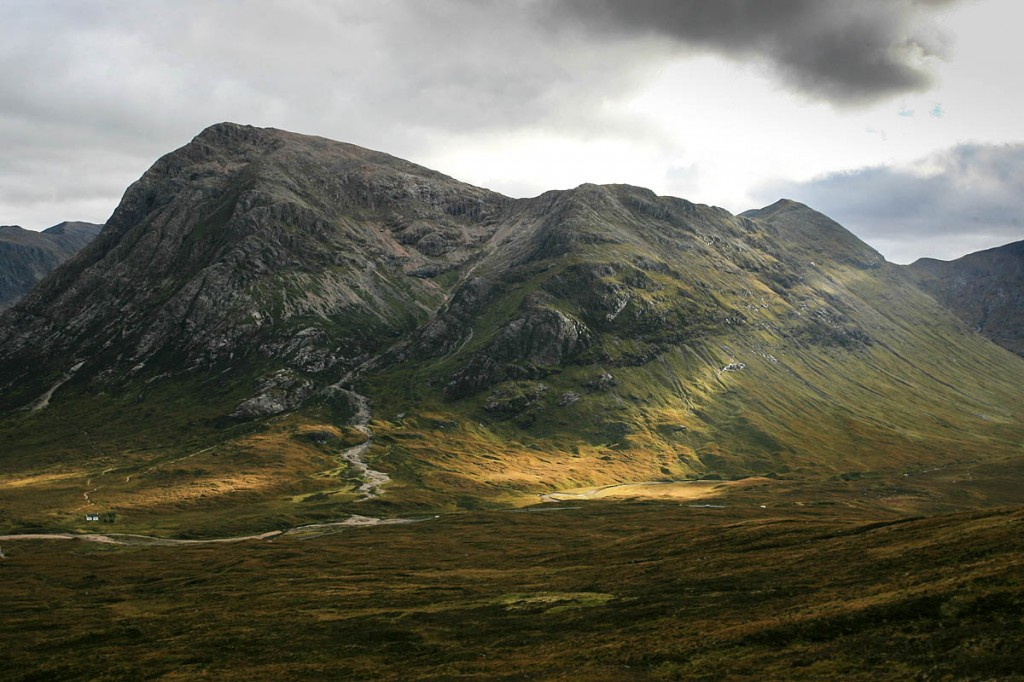 The girl was rescued from Coire na Tulaich on Buachaille Etive Mòr. Photo: Bob Smith/grough