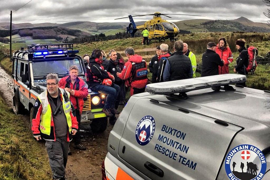 The rescue scene. Photo: Buxton MRT