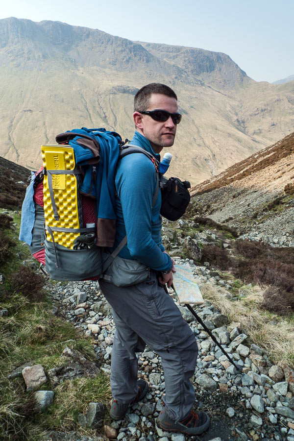David Lintern will also tackle the nine highest mountains in Scotland. Photo: David Lintern