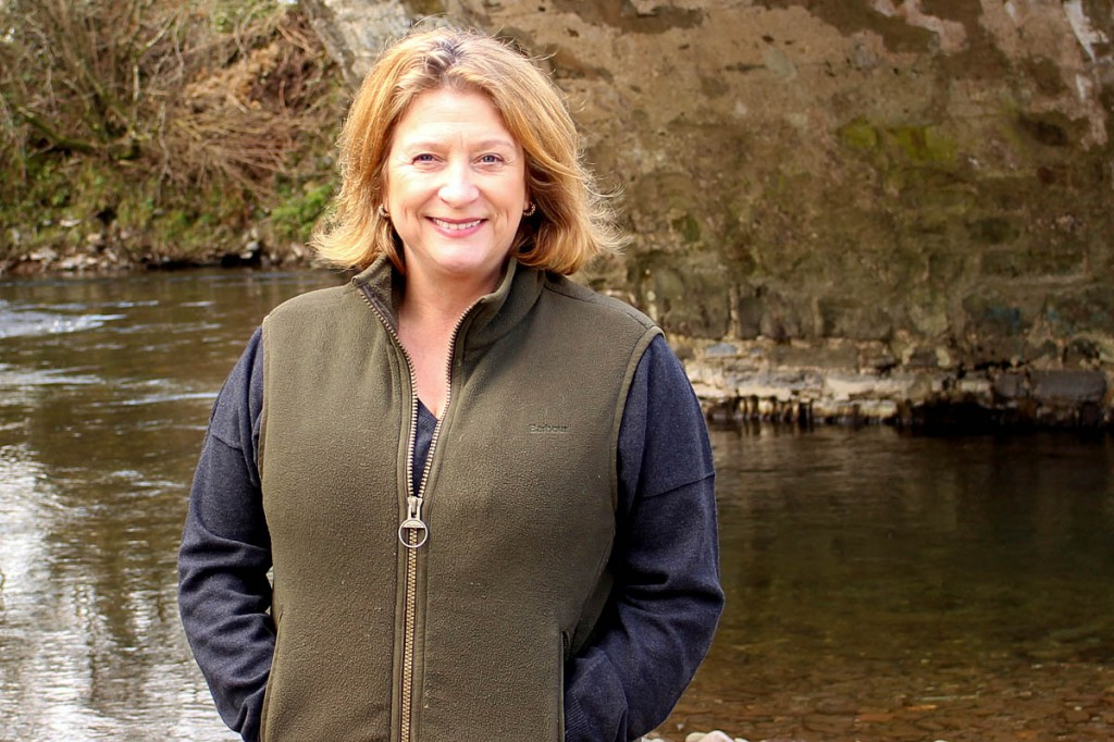 Caroline Quentin, president of the Campaign for National Parks. Photo: CNP