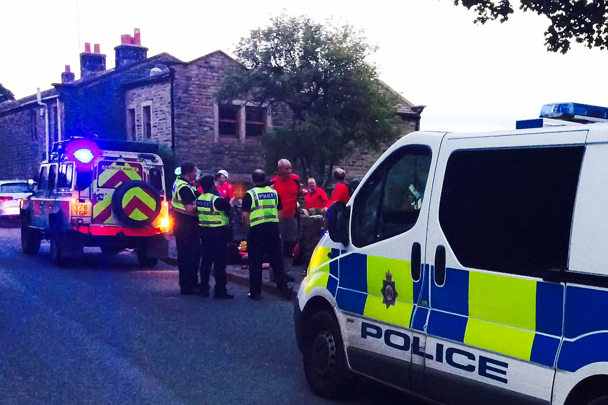 grough — Girl, 8, survives 50ft fall from rocks at Yorkshire beauty