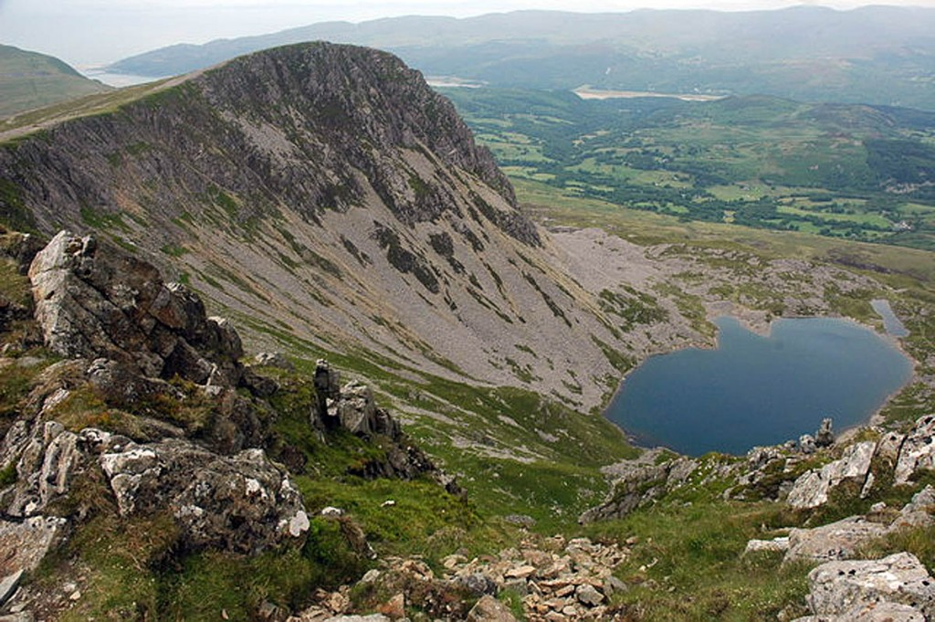 The woman became separated from her husband during the descent of Cadair Idris. Photo: Philip Halling CC-BY-SA-2.0