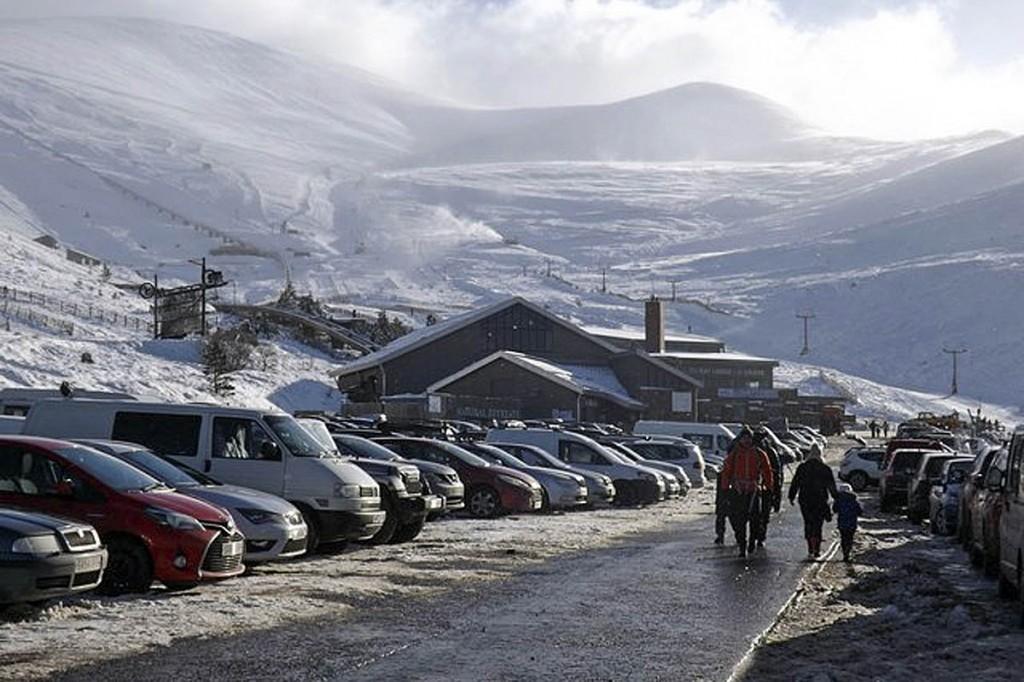 The Cairn Gorm ski centre. Photo: Stephen Sweeney CC-BY-SA-2.0
