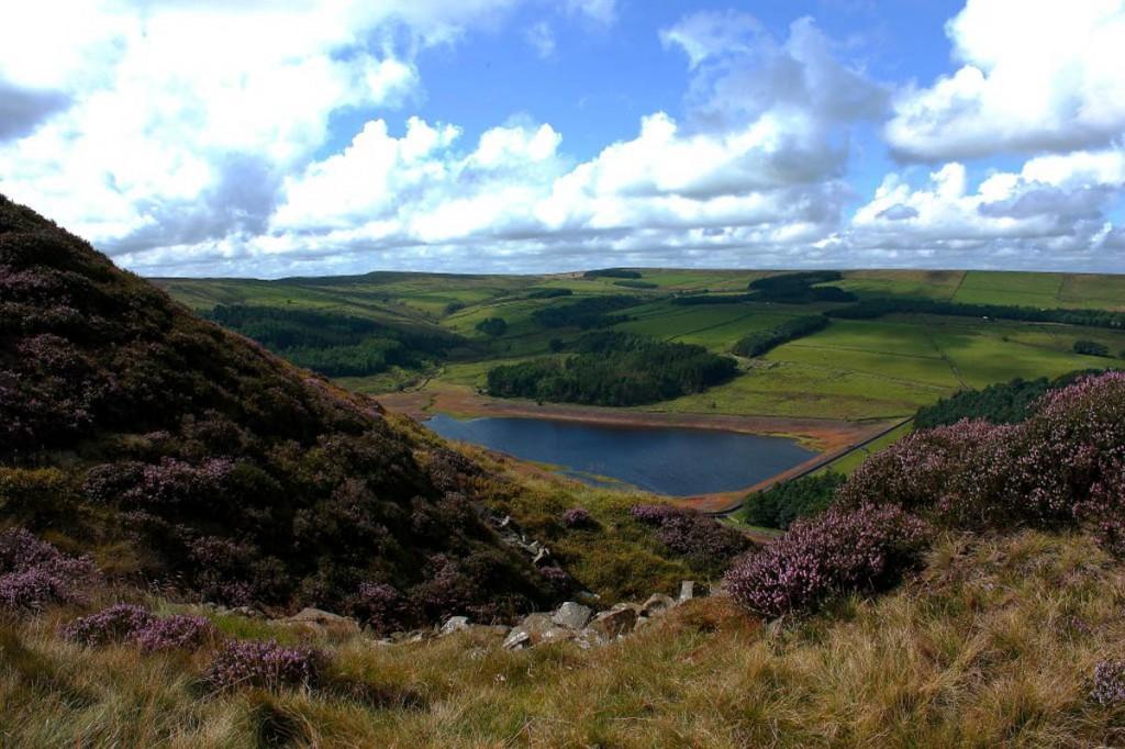 Calf Hey Reservoir, west of Haslingden. Photo: Natural England