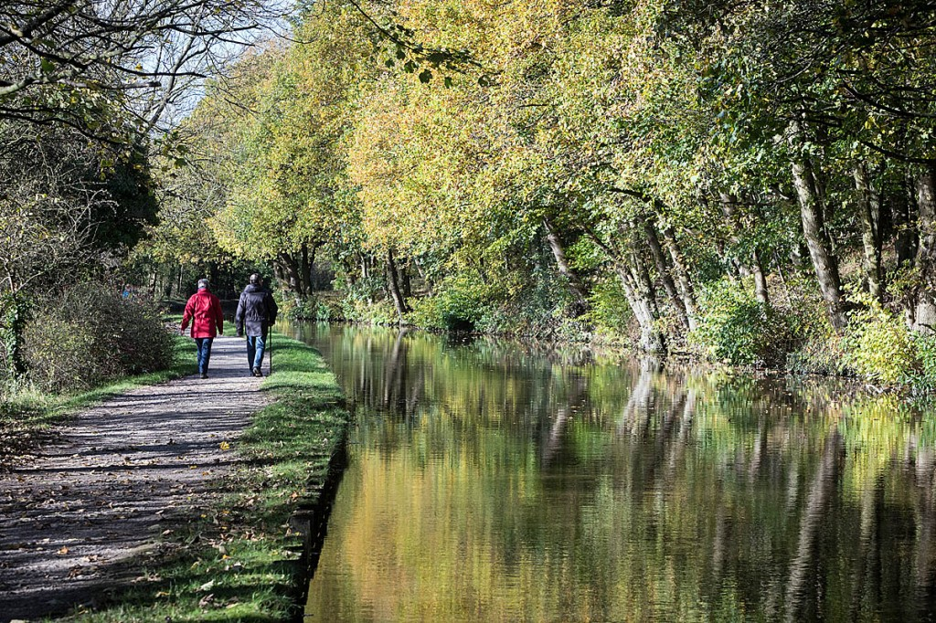 Canal towpaths are green spaces the public can use. Photo: Bob Smith/grough