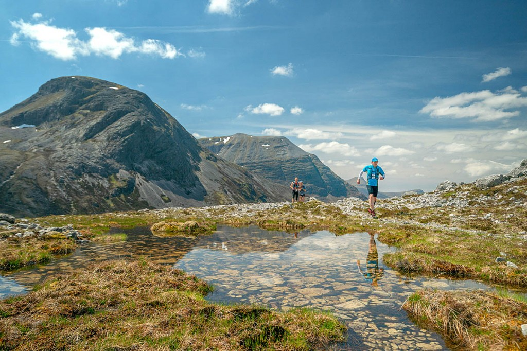 The Cape Wrath Ultra passes through spectacular Highland scenery. Photo: Steve Ashworth