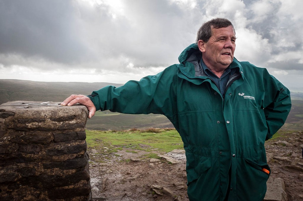 Yorkshire Dales National Park Authority chair Carl Lis. Photo: Bob Smith/grough