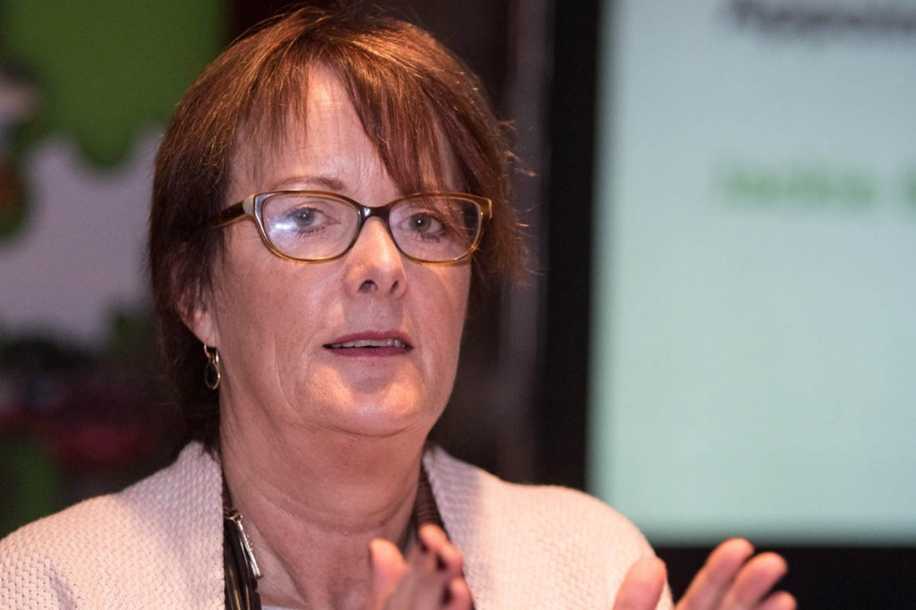 Caroline White is stepping down as chief executive after nine years. Photo: Bob Smith/grough