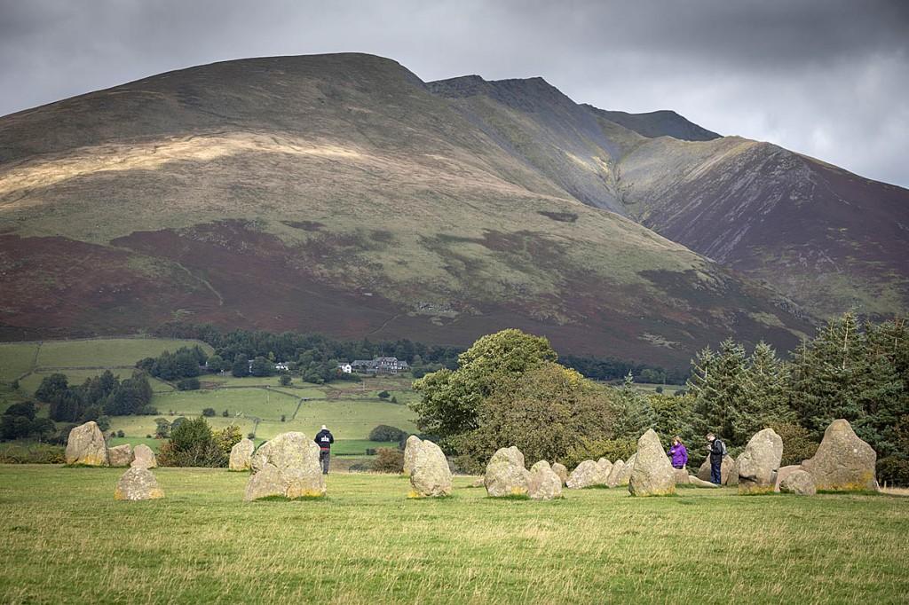 The Castlerigg stone circle, with Blencathra in the distance. Photo: Bob Smith/grough