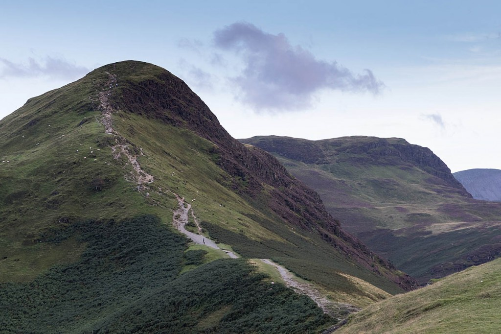 The man was caught out by high winds on Cat Bells. Photo: Bob Smith/grough