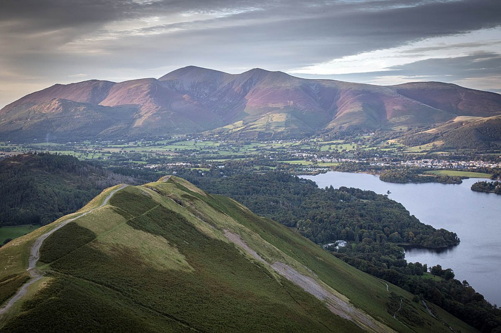 The car park was used by people making the ascent of Cat Bells. Photo: Bob Smith/grough