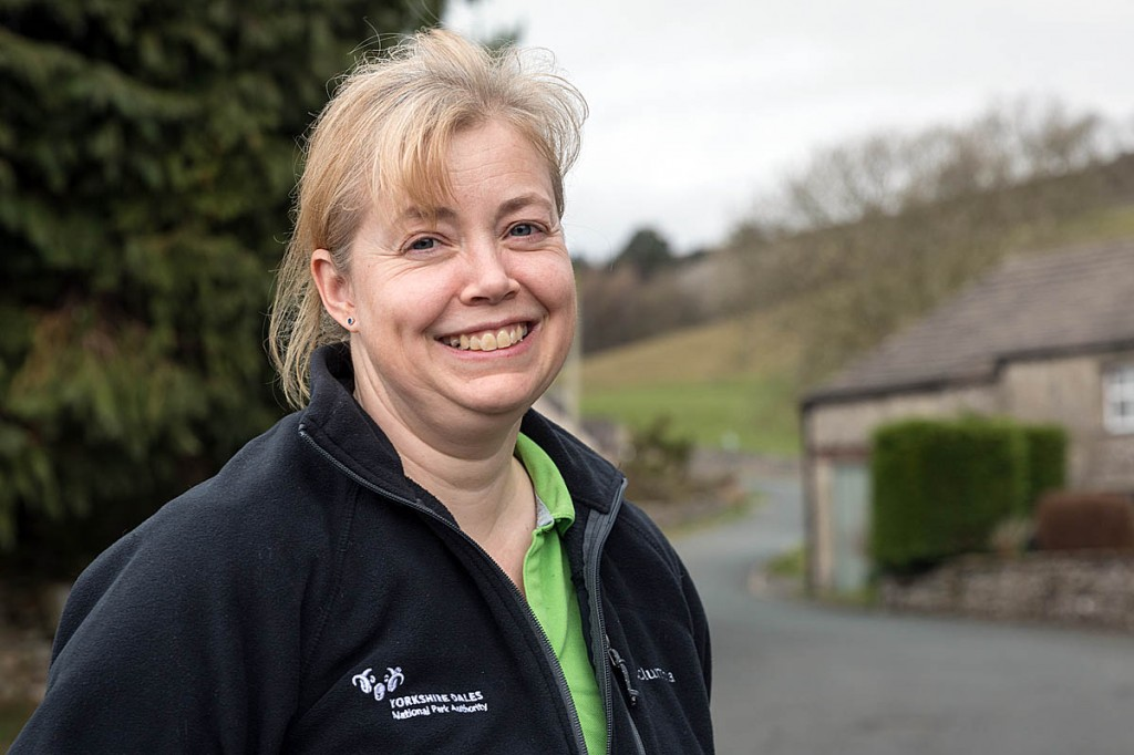 Cat Kilner, Yorkshire Dales learning and engagement officer. Photo: Bob Smith/grough