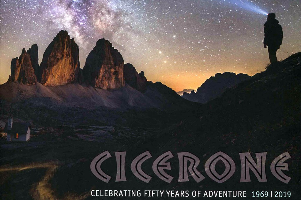 A limited edition book has been produced to mark Cicerone's 50 years