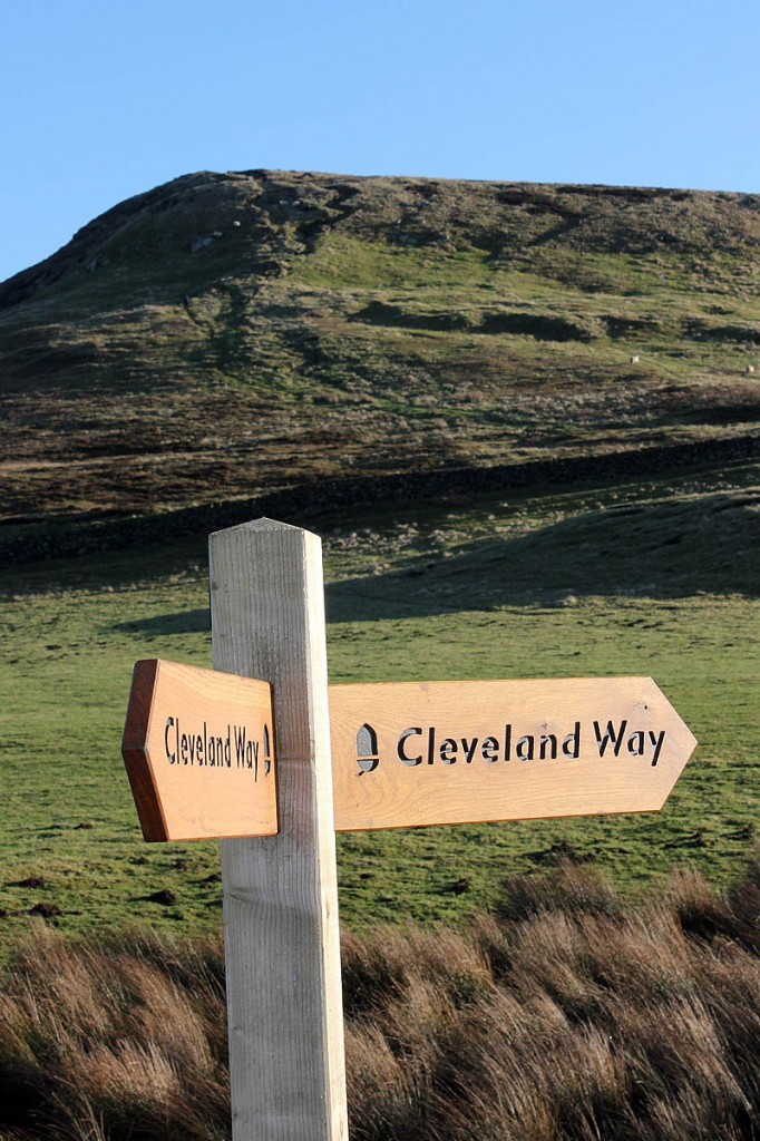 The Cleveland Way runs for 175km (109 miles). Photo: North York Moors NPA
