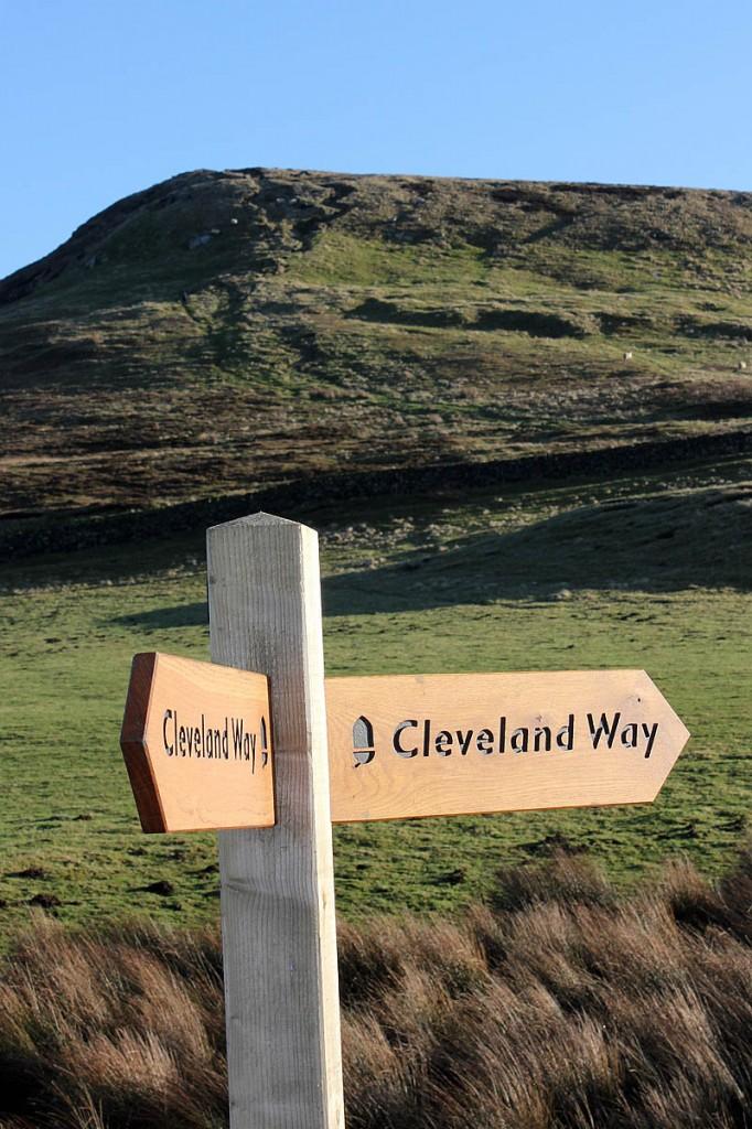 The Cleveland Way runs for 175km (109 miles). Photo: North York Moors NPA