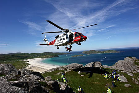 Grough  New Private Rescue Helicopters Will Fly In Coastguard Colours