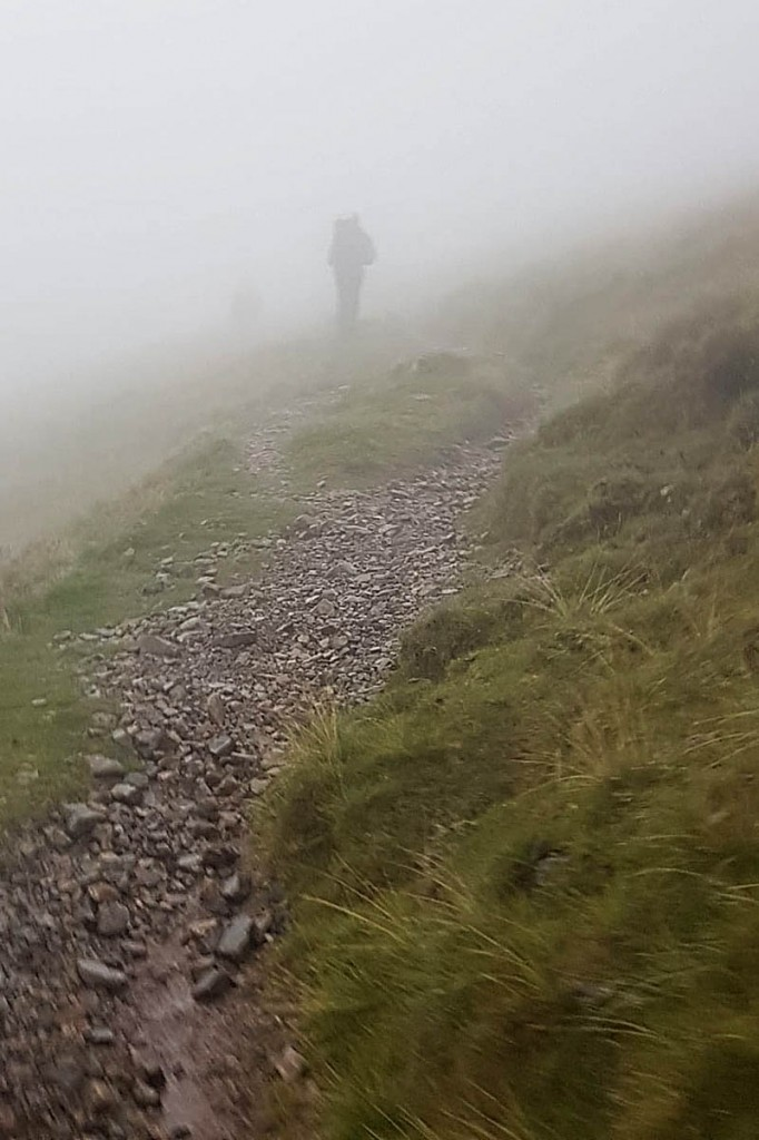 Rescuers were called to walkers lost in low cloud. Photo: Cockermouth MRT