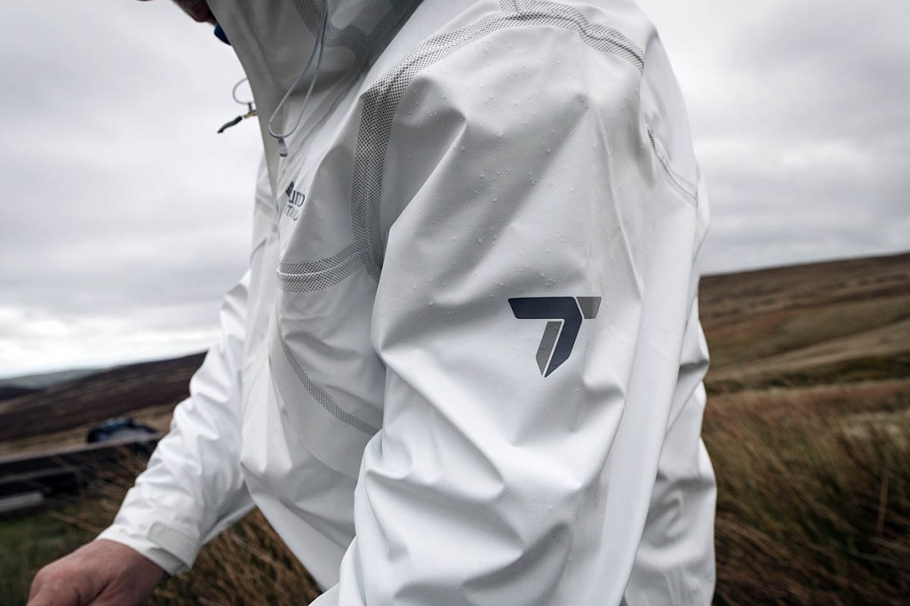 The Columbia Outdry Ex Eco Jacket represents a radical departure from traditional design. Photo: Bob Smith/grough