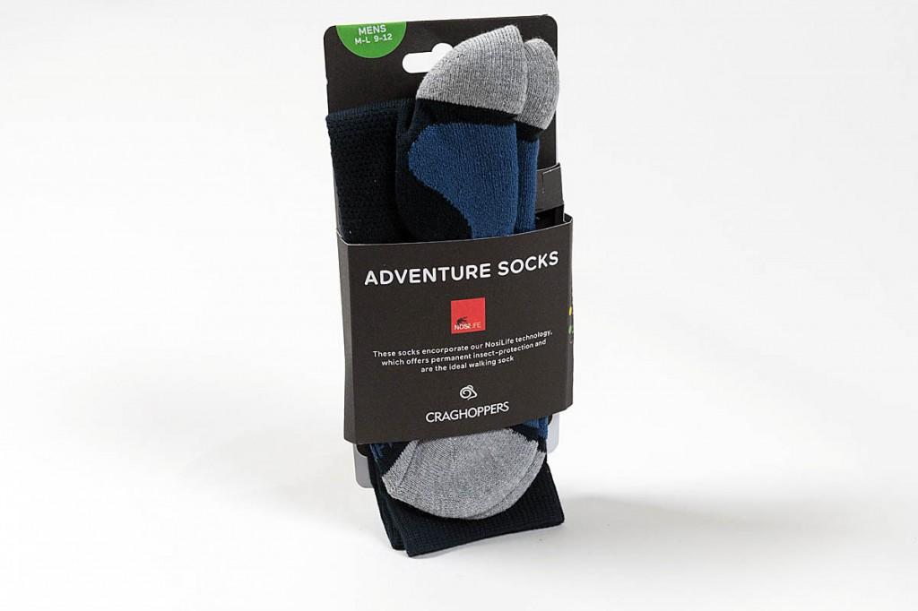 Craghoppers Adventure Socks. Photo: Bob Smith/grough