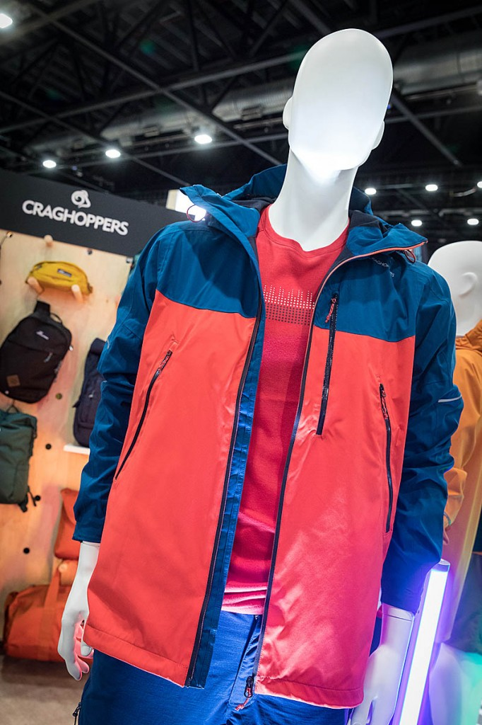Craghoppers' clothing featured the Dynamic 12000 system. Photo: Bob Smith/grough