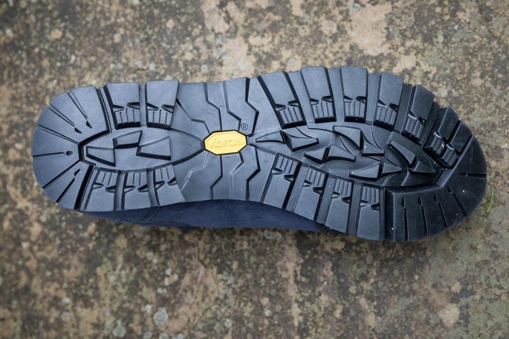 The Vibram sole has deep lugs. Photo: Bob Smith/grough