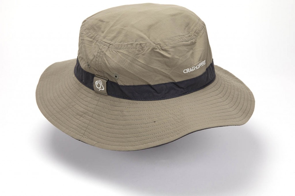 Craghoppers NosiLife Jungle Hat. Photo: Bob Smith/grough