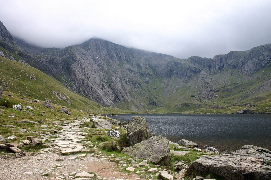 The trio was rescued from a route on the Idwal Slabs. Photo: Malcolm Neal CC-BY-SA-2.0