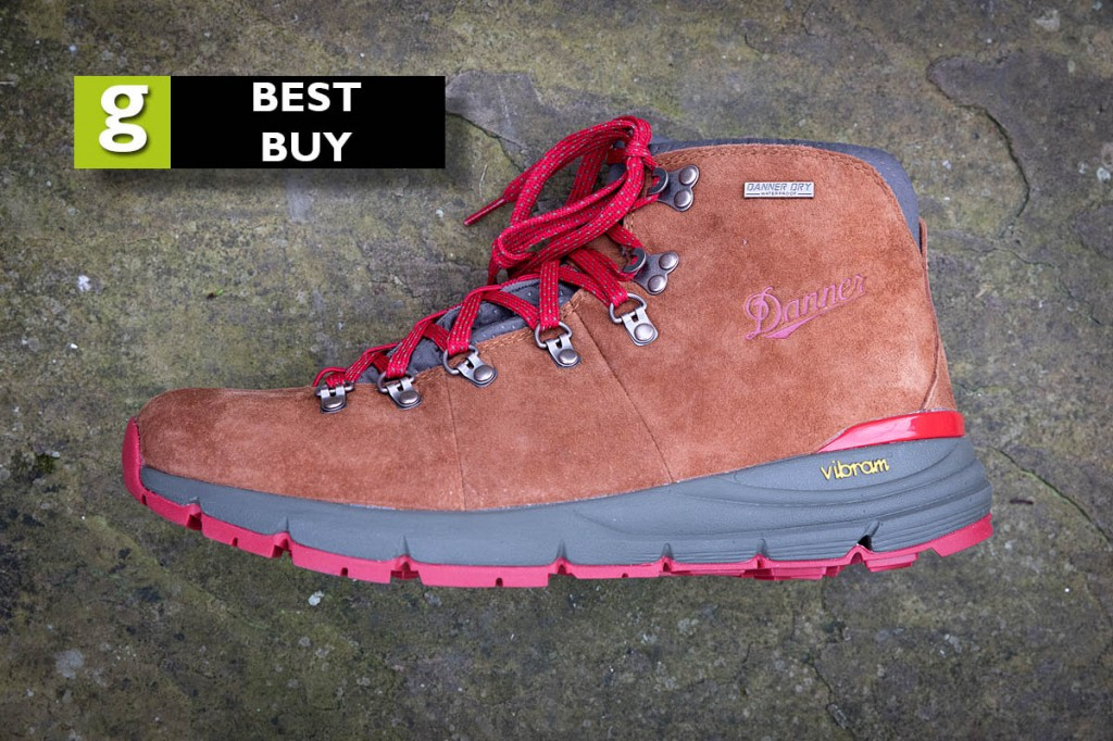 The Danner Mountain 600 gained grough's 'best buy' rating. Photo: Bob Smith/grough