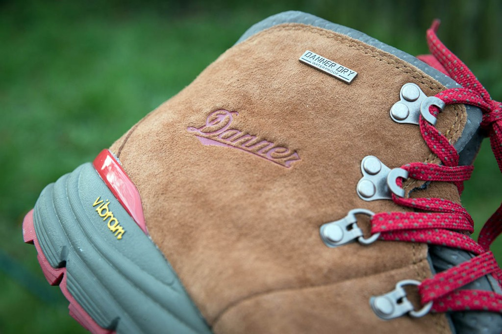 The uppers are water-resistant suede with Danner Dry waterproofing. Photo: Bob Smith/grough