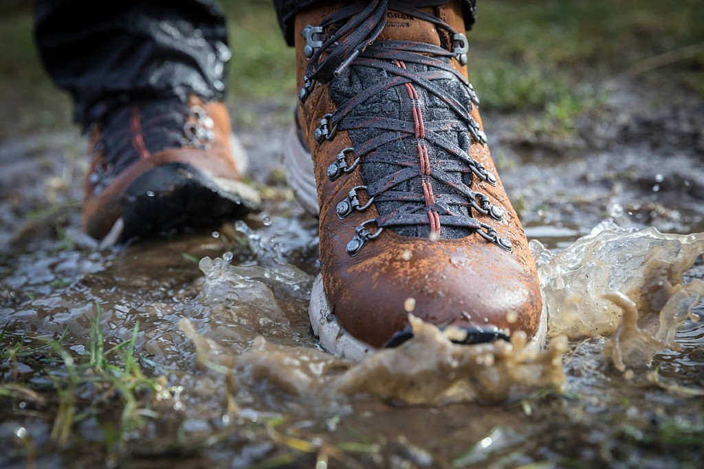 The boots are waterproof and insulated. Photo: Bob Smith/grough