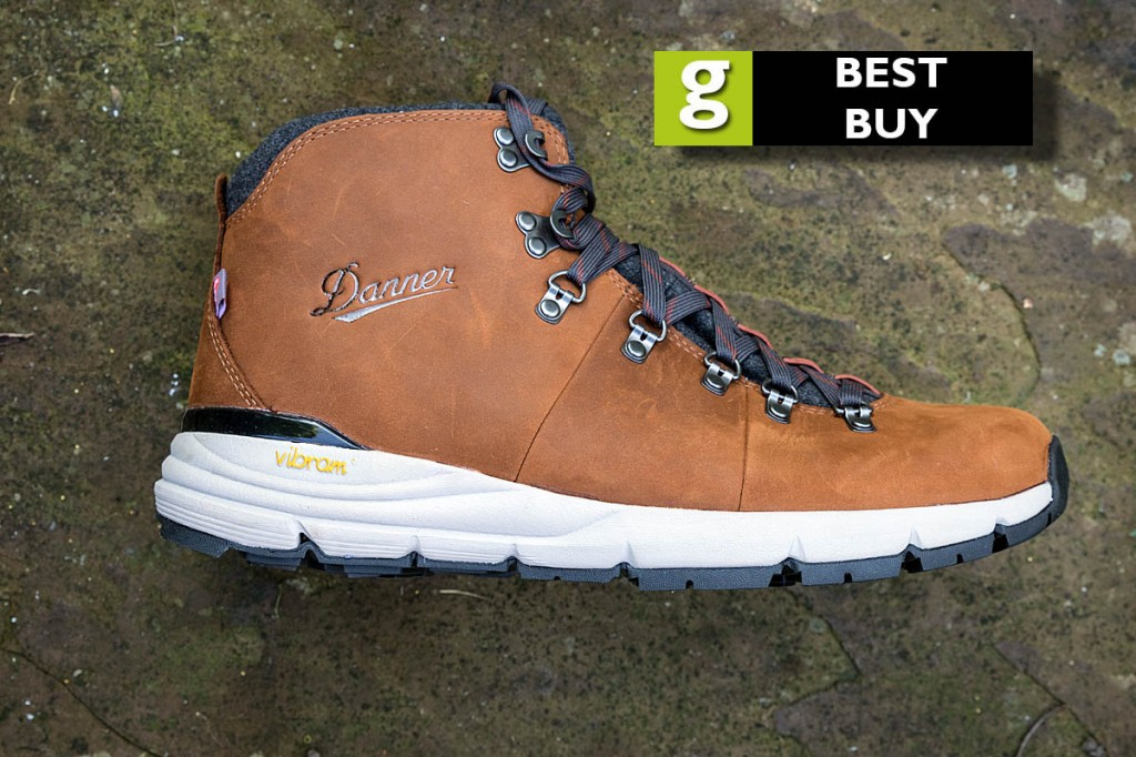 The Danner Mountain 600 Weatherized is rated a best buy. Photo: Bob Smith/grough