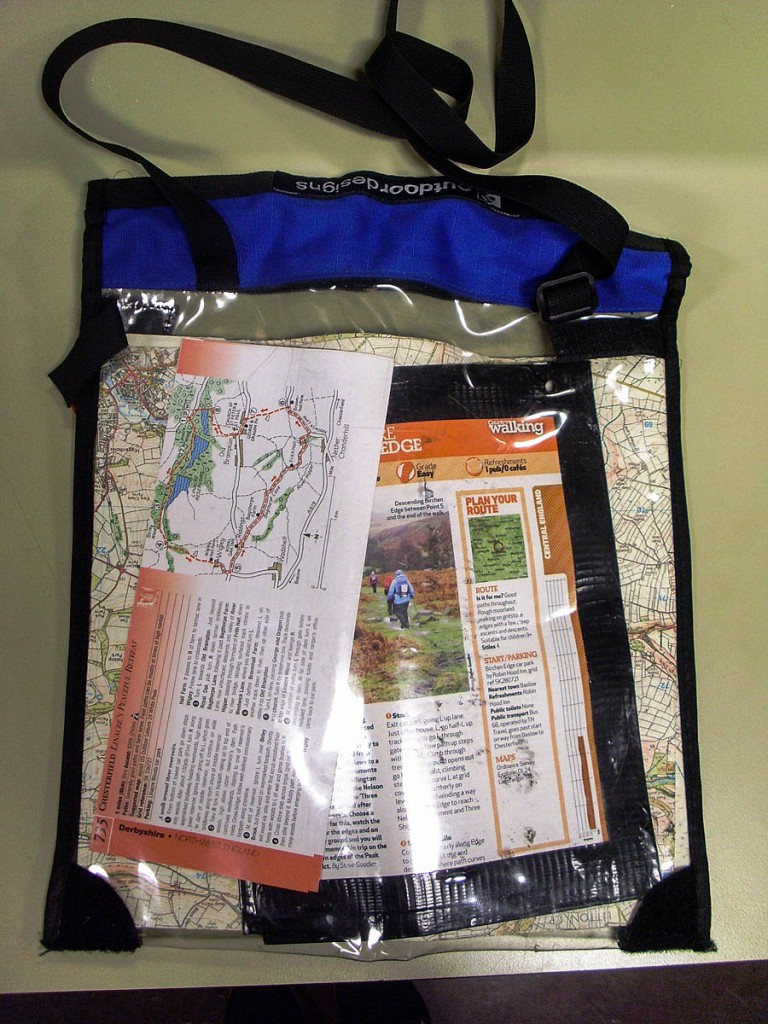 The map case and contents were in the rucksack