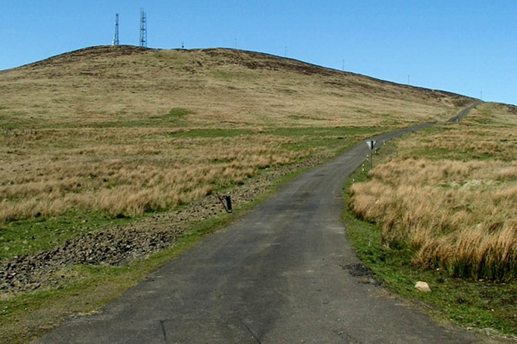 Divis Mountain, west of Belfast. Photo: Rossographer CC-BY-SA-2.0