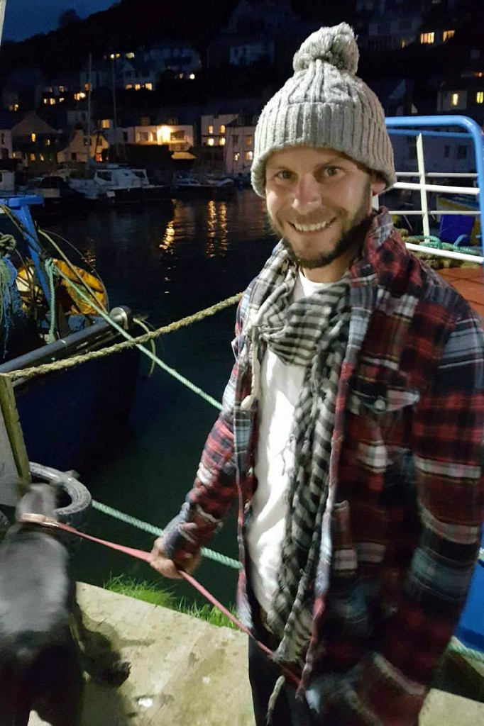 Kayaker Dominic Jackson, missing in north-east Scotland