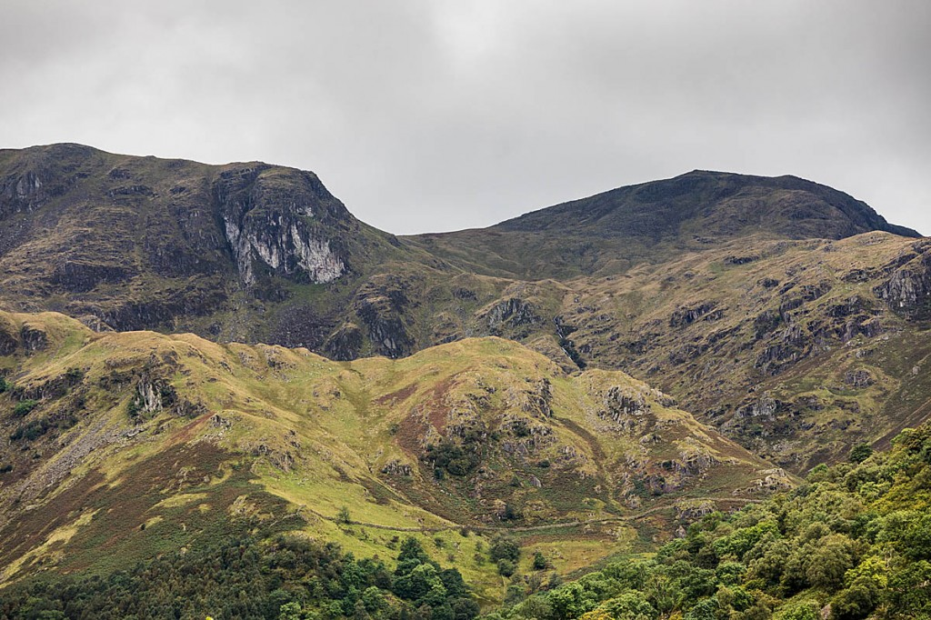 The couple got lost near Dove Crag, left. Photo: Bob Smith/grough