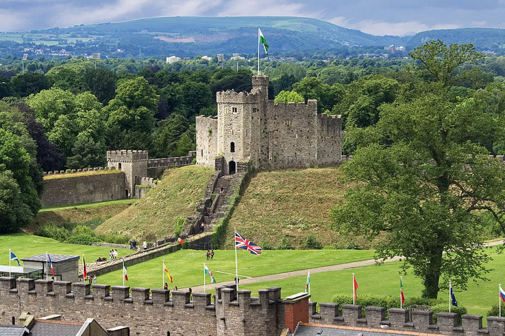 The 2021 race will finish at Cardiff Castle. Photo: Brian Phillips/picfair.com
