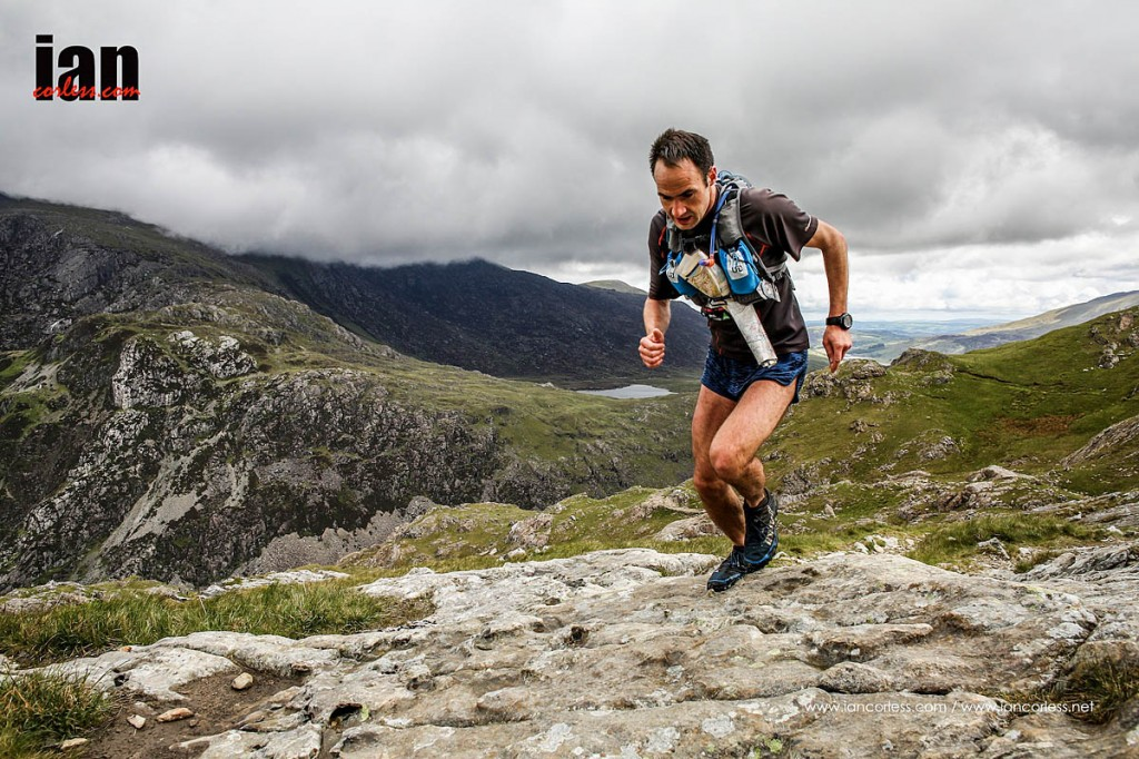 Berghaus Dragon's Back leader Jim Mann. Photo Ian Corless