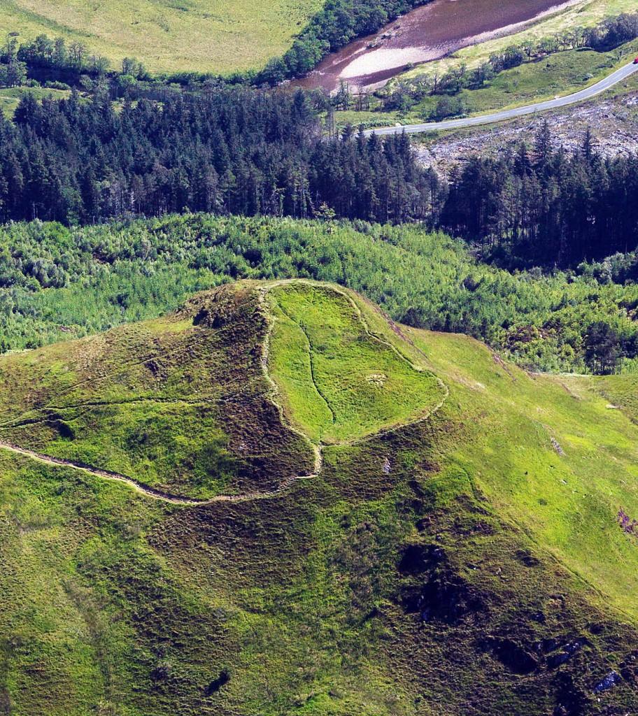 The Dun Deardail Iron Age fort
