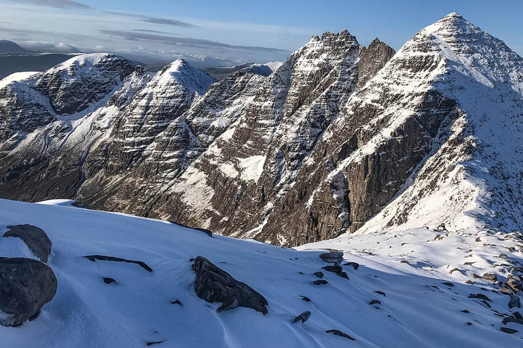 The Rev Paton's body was found on An Teallach. Photo: Mike Brown/Dundonnell MRT