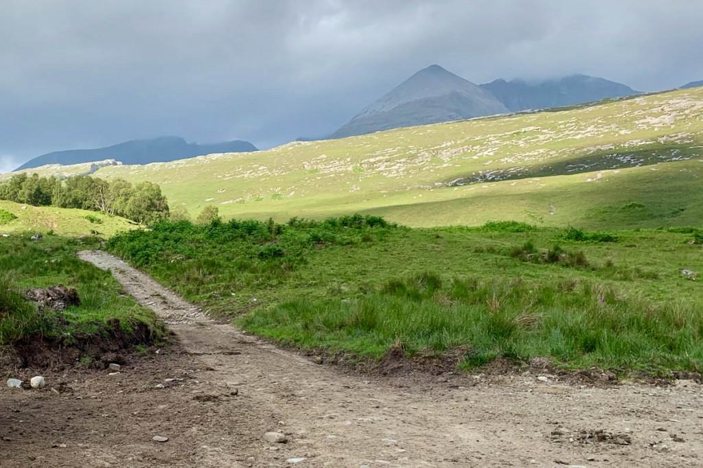 An Teallach, seen from Corrie Hallie. Photo: Andy Beaton