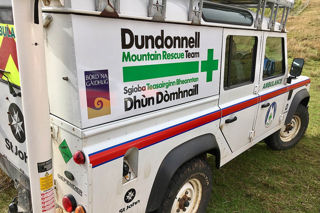 The Dundonnell team has taken its training online. Photo: Dundonnell MRT