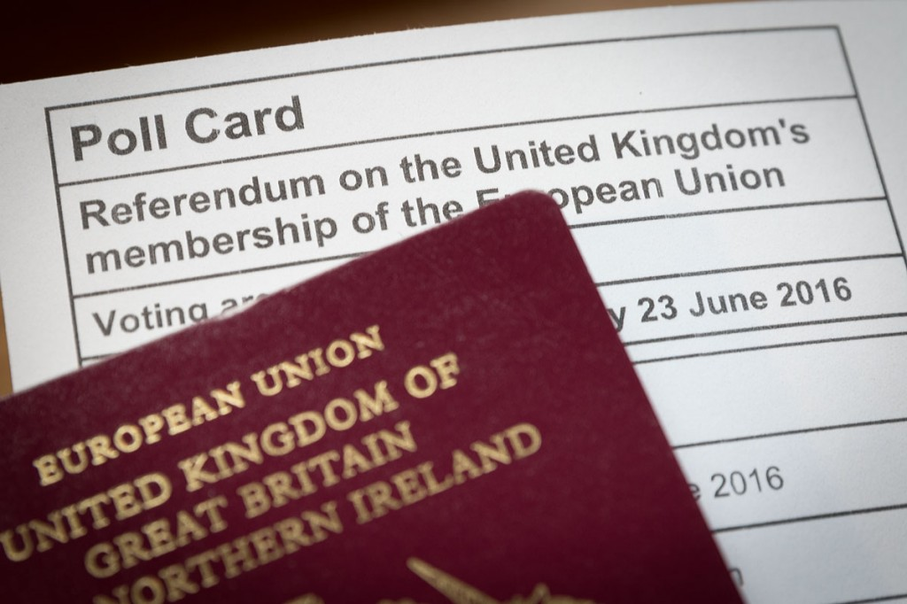 The EU referendum will take place on 23 June