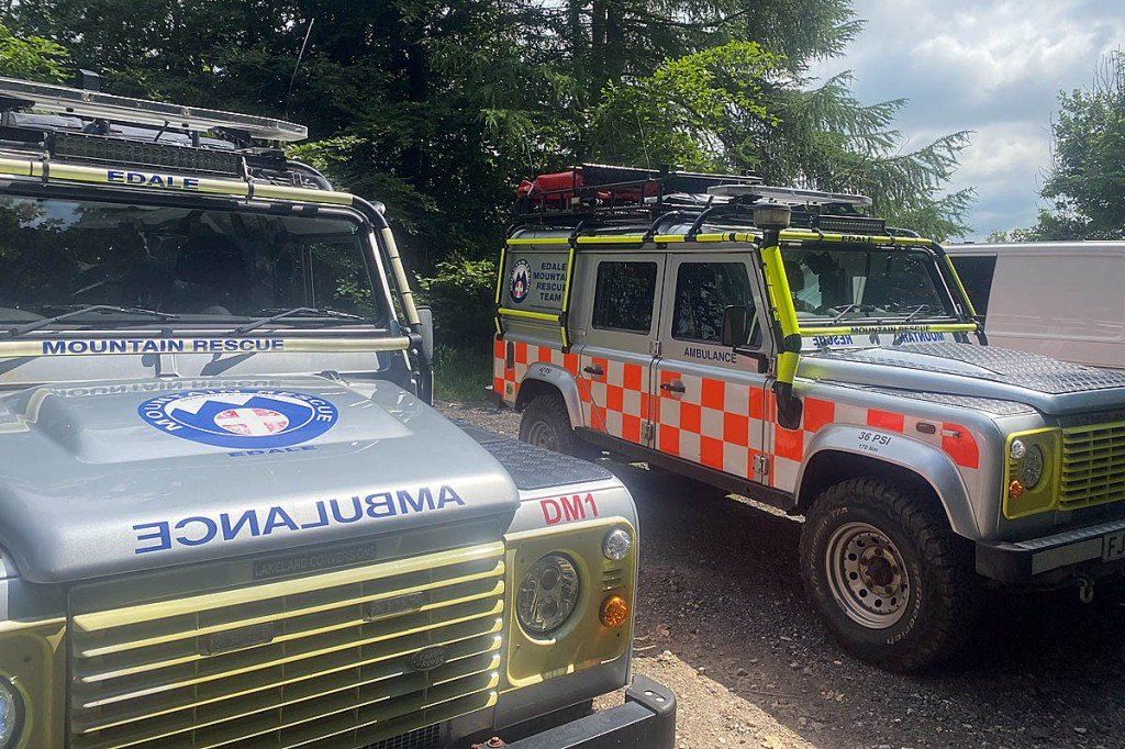 The number of incidents for the team has surpassed 200 in the past 12 months. Photo: Edale MRT
