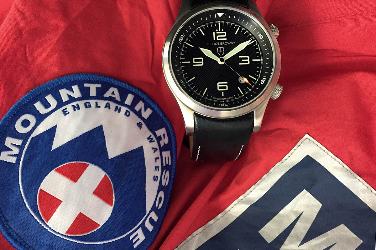 Grough sales of new elliot brown mountain rescue watch will raise funds for rescuers for Mountain watches