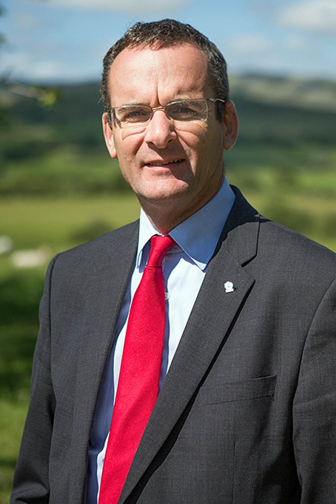Snowdonia national park chief executive Emyr Williams. Photo: Alan Dop