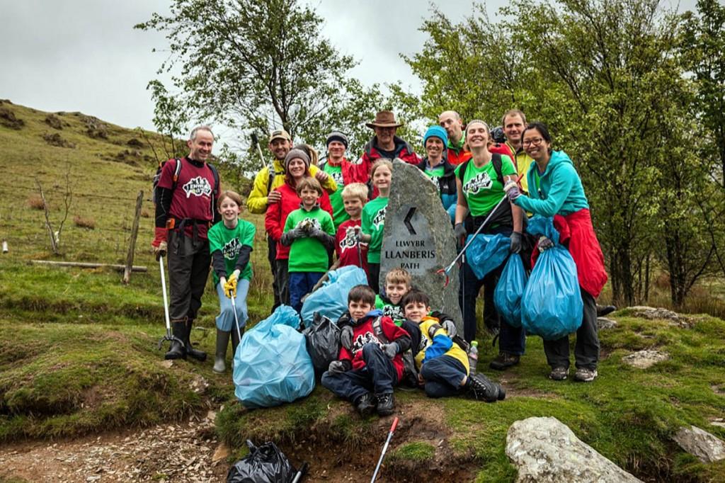 The most recent Envirotrek in the UK took place in Snowdonia. Photo: Dan Lane