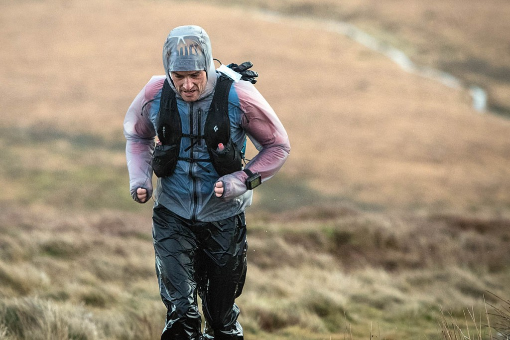 Eugeni Roselló Solé in action during last year's Spine Race. Photo: Bob Smith/grough