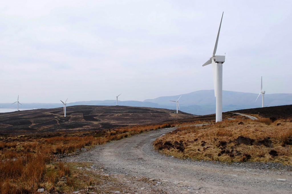 The Kirkby Moor windfarm. Photo: Friends of the Lake District
