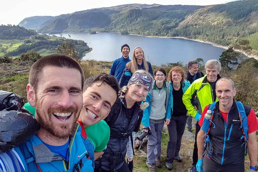 The team of ploggers who took part in the event. Photo: Friends of the Lake District