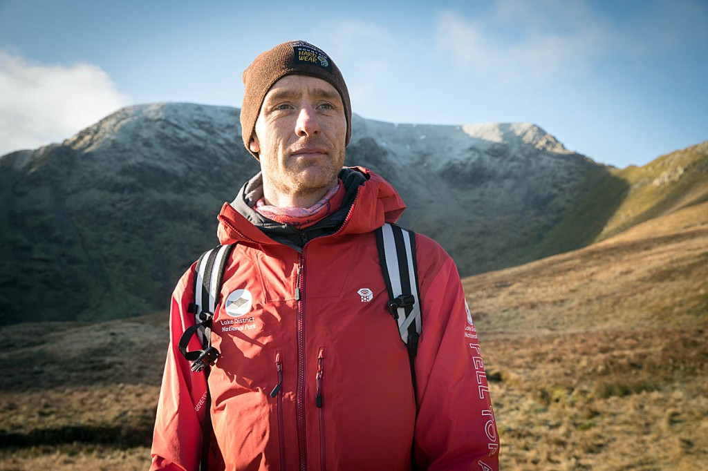 Wes Hunter, latest recruit to the team of felltop assessors. Photo: Bob Smith/grough